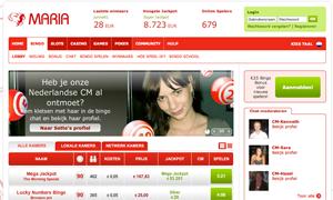 Maria Bingo Homepage